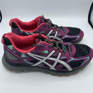 ASICS Gel-Scram 3 purple grey men's 11